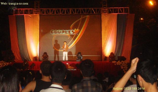 Tô chức sự kiện Trần Gia- Sân khấu ca nhạc do Trần Gia phục vụ