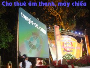 Tổ chức sự kiện Trần Gia - Cho thuê âm thanh, máy chiếu