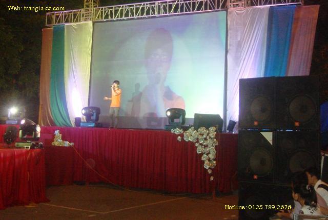 Tô chức sự kiện Trần GIa - Cho thuê âm than, ánh sáng